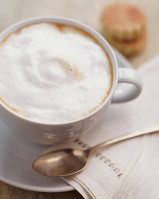 Photograph - Cup Of Cappuccino by Digital Vision.