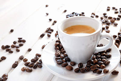 Photograph - Cup Of Espresso by Gm Stock Films