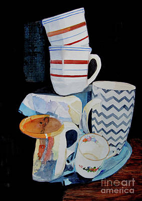 Painting - Cups by Sandy McIntire