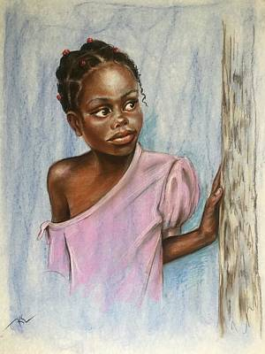 Painting - Curiosity  by Katerina Kovatcheva