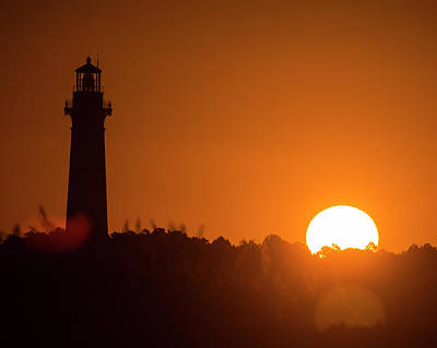 Photograph - Currituck Lighthouse Dawn by Alan Raasch