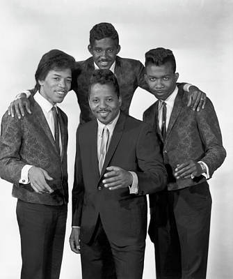 Photograph - Curtis Knight & The Squires Featuring by Michael Ochs Archives
