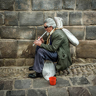 Photograph - Cusco Man by Jon Exley