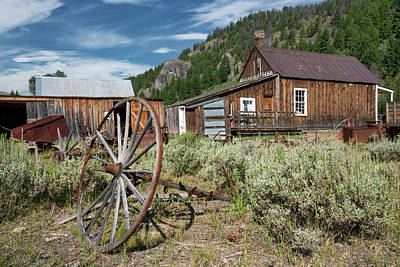 Photograph - Custer 2 by Leland D Howard