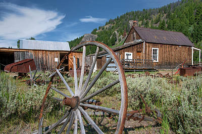 Photograph - Custer by Leland D Howard