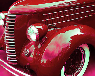 Photograph - Custom 1936 Ford Nash Grill by David King