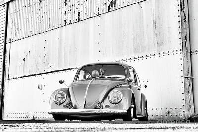 Photograph - Custom Beetle Monochrome by Tim Gainey