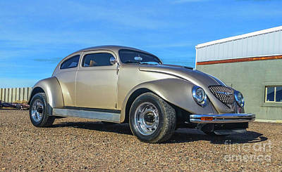Photograph - Custom Volkswagen Bug by Tony Baca