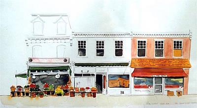 Cutrona's Market On King St. Art Print