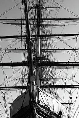 Photograph - Cutty Sark At Greenwich Dry Dock by Aidan Moran