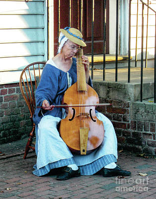 Musicians Royalty Free Images - CW Street Musician Royalty-Free Image by Jerry Watkins