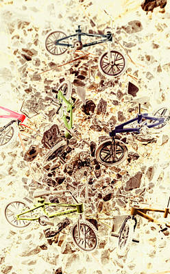 Pop Art Royalty-Free and Rights-Managed Images - Cycling abstracts by Jorgo Photography - Wall Art Gallery