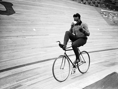 Photograph - Cycling Marathon by Derek Berwin