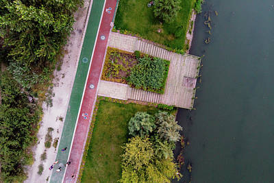 Photograph - Cycling Path by Okan YILMAZ