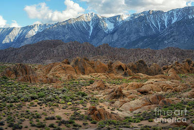 Photograph - Cyclops Arch At Alabama Hills by Michael Ver Sprill