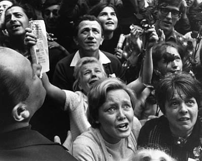 Photograph - Czech Crowd by Reg Lancaster