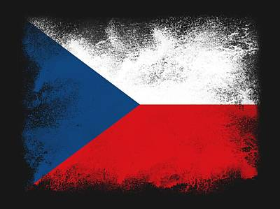 Impressionist Landscapes - Czech flag by Psycho Shadow