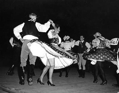 Photograph - Czechoslovakian Folk Dance Being Perform by Hansel Mieth