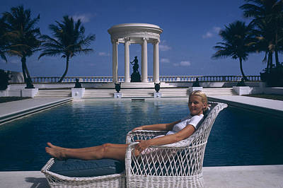 Photograph - Czs House by Slim Aarons