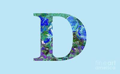 Digital Art - D 2019 Collection by Corinne Carroll