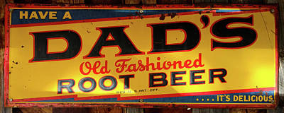 Photograph - Dad's Root Beer by TL Mair