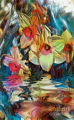 Photograph - Daffodil Art By Kaye Menner by Kaye Menner