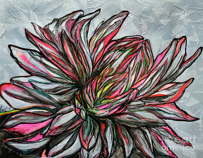 Painting - Dahlia by Rebecca Weeks Howard