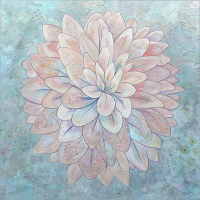 Target Threshold Painterly - Dahlia by Shadia Derbyshire