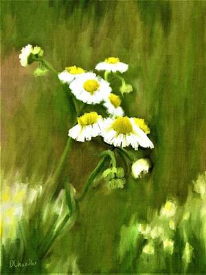 Painting - Daisies by Diane Chandler