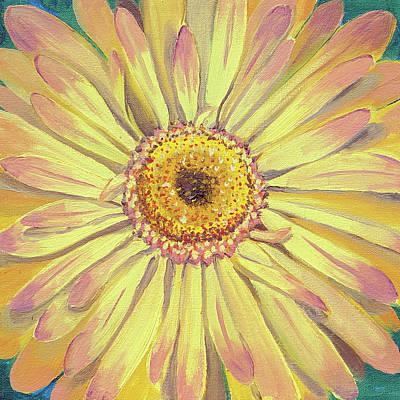 Painting - Daisy by Laura Dozor