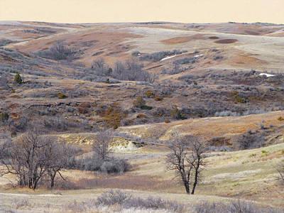 Photograph - Dakota Prairie Slope Reverie by Cris Fulton