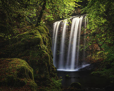 Photograph - Dalcairney Falls by Raymond Carruthers