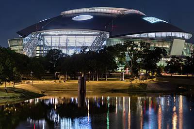 Photograph - Dallas Cowboys Stadium 031619 by Rospotte Photography