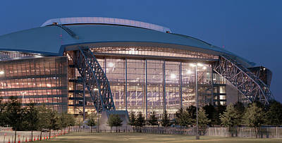 Photograph - Dallas Cowboys Stadium 122818 by Rospotte Photography