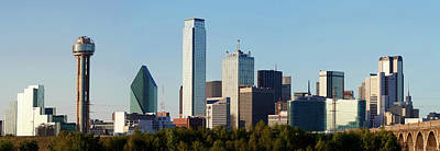 Photograph - Dallas Skyline 112117 by Rospotte Photography