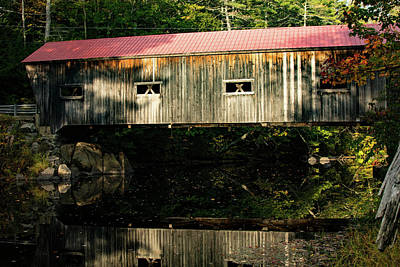 Photograph - Dalton Covered Bridge by Jeff Folger