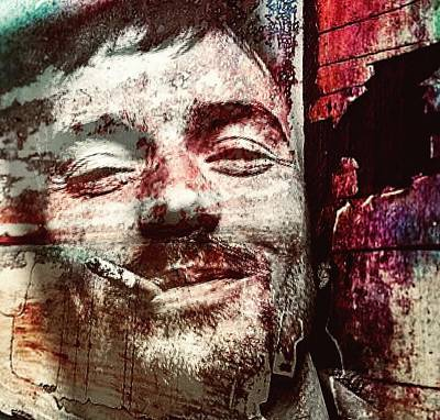 Mixed Media - Damien Rice by Jayime Jean