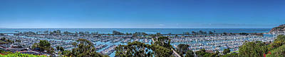 Royalty-Free and Rights-Managed Images - Dana Point Harbor Pano by Lonnie Christopher