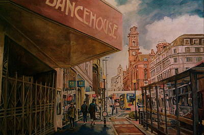 Painting - Dancehouse, Manchester by Rosanne Gartner
