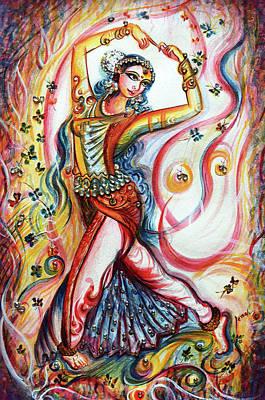Painting - Dancer - Harsh Malik  by Harsh Malik