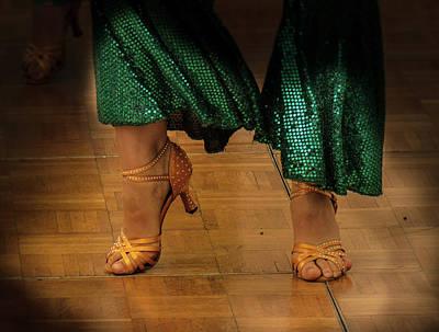 Photograph - Dancer Shoes No. 1 by Juan Contreras