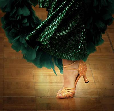 Photograph - Dancer Shoes No. 2 by Juan Contreras