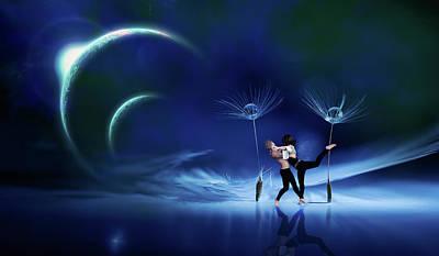 Digital Art - Dancers by Mihaela Pater