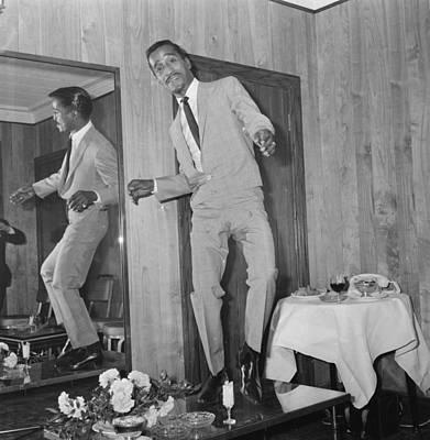 Photograph - Dancing Davis Jnr by Larry Ellis