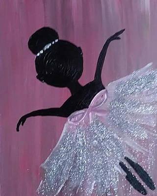 Bling Mixed Media - Dancing Doll by Katina Rabb