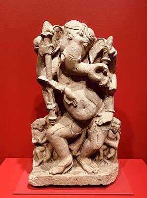 Photograph - Dancing Ganesha 2 by Marilyn Hunt