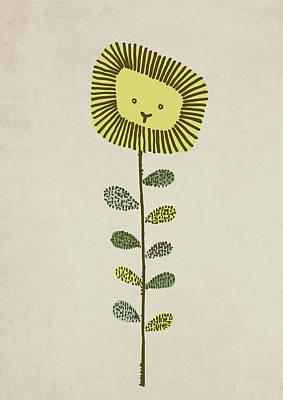 Flower Drawing - Dandy by Eric Fan