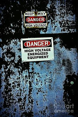 Photograph - Danger Zone by Amanda Kessel