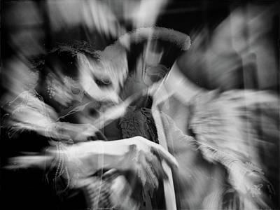 Photograph - Danse Masquee by Jorg Becker