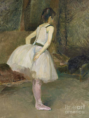 Painting - Danseuse, 1888 by Henri de Toulouse-Lautrec
